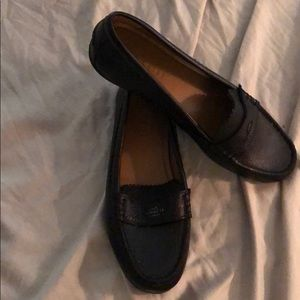 Coach loafers tried but never used